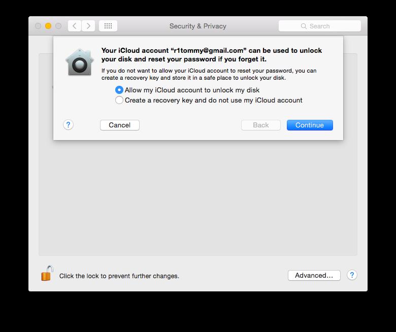 Mac FileVault 2 02
